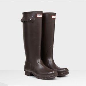 Original Chocolate Matte Hunter Tall Boots